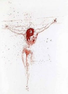 Le Christ 1964 Limited Edition Print by Salvador Dali