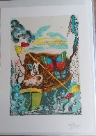 Papillon Anciennes 1977: Suite of 4 Limited Edition Print by Salvador Dali - 4