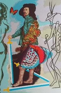 Papillion Anciennes, Suite of 4 Prints 1977 Limited Edition Print - Salvador Dali