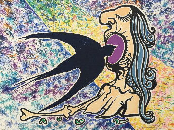 Le Hirondelle (The Swallow) AP 1976 Limited Edition Print by Salvador Dali