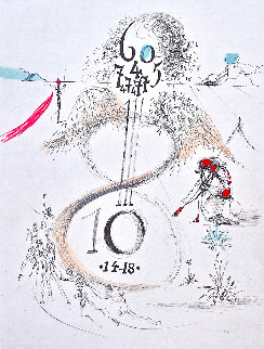 The 1914-18 War 1967 Limited Edition Print by Salvador Dali