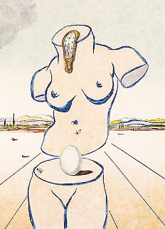 Birth of Venus (Torso) 1979 Limited Edition Print by Salvador Dali