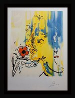 Fleurs Surrealiste Vanishing Face 1980 Limited Edition Print by Salvador Dali - 2