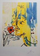 Fleurs Surrealiste Vanishing Face 1980 Limited Edition Print by Salvador Dali - 1