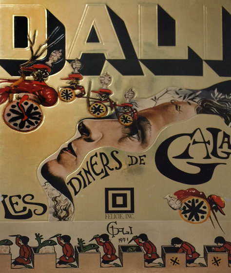 Les Diners De Gala (cookbook) 1973 First Edition Hand Signed Other by Salvador Dali