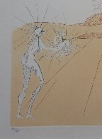 Neuf Paysages Paysage Avec Figures-Soleil From Sun 1980 Limited Edition Print by Salvador Dali - 2
