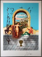 Christopher Columbus Discovers America (Jack of Swords) And Gateway to the New World, Set  Limited Edition Print by Salvador Dali - 1