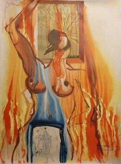 Le Phoenix From Alchimie Des Philosophes 1975 Limited Edition Print - Salvador Dali