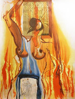 Le Phoenix From Alchimie Des Philosophes 1975 Limited Edition Print by Salvador Dali - 0
