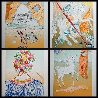 Retrospective Complete Suite of 4 Lithographs 1978 Limited Edition Print - Salvador Dali