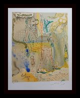 Marquis De Sade the Twins Outwit Damis 1969 Limited Edition Print by Salvador Dali - 1