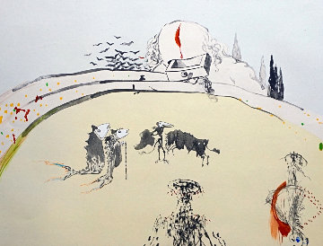 Tauramachi Surrealiste Bullfight With Drawer 1970 Limited Edition Print - Salvador Dali