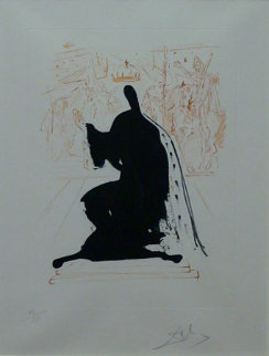 King of Aragon 1972 Limited Edition Print - Salvador Dali