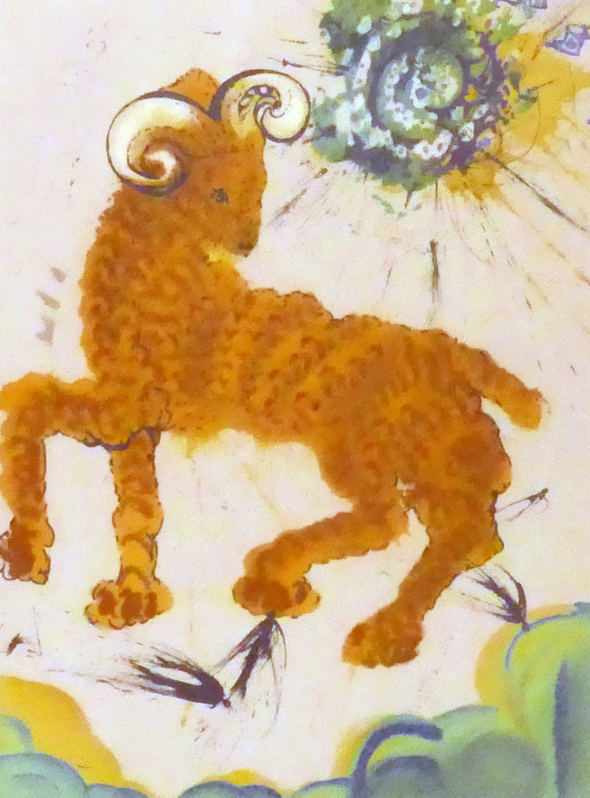 Symbol of the Zodiac: Aries Limited Edition Print by Salvador Dali