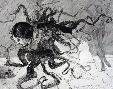 Mythology Suite: Medusa (la Meduse)  1963 (Early) Limited Edition Print by Salvador Dali