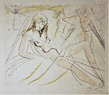 Mort De Cléopatra (death of Cléopatra) 1975 Limited Edition Print by Salvador Dali