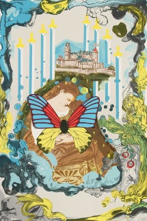 Papillon Anciennes 1977 Limited Edition Print - Salvador Dali