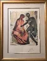 Les Amoureaux, Suite of 3 Lithographs 1979 Limited Edition Print by Salvador Dali - 5