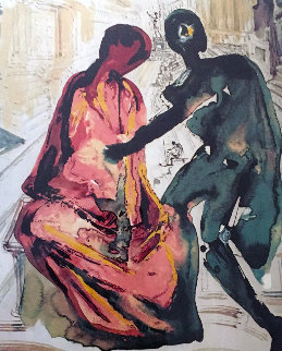 Les Amoureaux, Suite of 3 Lithographs 1979 Limited Edition Print by Salvador Dali