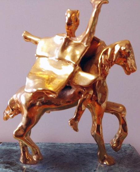 Trajan on Horseback Sculpture 1974 8 in Sculpture by Salvador Dali
