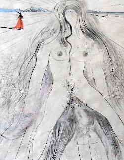 La Femme a Cheval 1968 Limited Edition Print - Salvador Dali