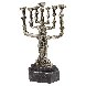 Menorah Bronze Sculpture 1981 20 in Sculpture by Salvador Dali - 0