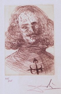Five Spanish Immortals - Velazquez 1965 (Early) Limited Edition Print by Salvador Dali