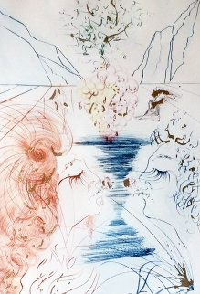 Let Him Kiss Me With the Kisses of His Mouth 1971 Limited Edition Print - Salvador Dali