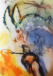 Alices Adventures in Wonderland, Book With 12 Heliogravures And 1 Etching 1969 Limited Edition Print by Salvador Dali