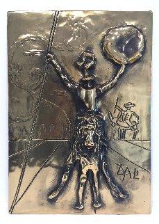 Don Quixote Bas Relief Sculpture 1979 Sculpture by Salvador Dali