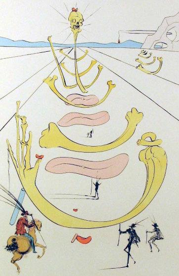Masque De La Mort 1975 Limited Edition Print by Salvador Dali