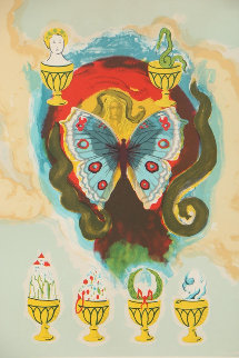 Wealth, Health, Fame and Love 1978 Limited Edition Print by Salvador Dali