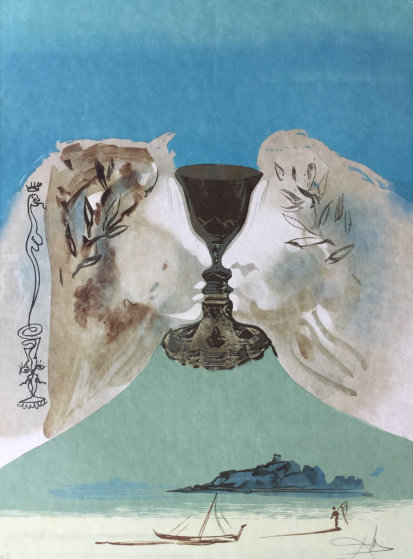 Chalice of Love 1976 Limited Edition Print by Salvador Dali
