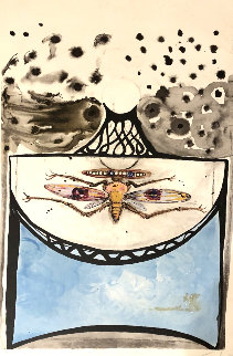 Arlequin:  Anamorphosis Suite 1972 Limited Edition Print by Salvador Dali