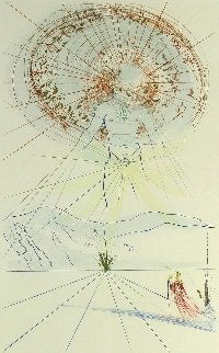 The Bridegroom Jumps &Return,Return Shalamite -Song of Songs of King Solomon Suite, Set of Limited Edition Print by Salvador Dali