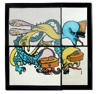 Puzzle of Life 1974 Limited Edition Print by Salvador Dali - 1