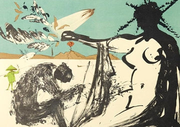 Liberation: Prisoners Are Free 1973 Limited Edition Print by Salvador Dali