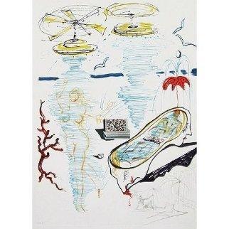 Imaginations & Objects of the Future: Liquid Tornado Bath Tub 1975 Limited Edition Print - Salvador Dali