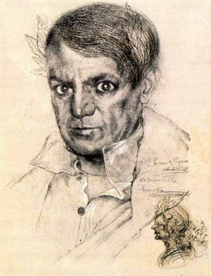 Portrait of Picasso 1970 Limited Edition Print by Salvador Dali