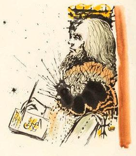 Portrait of Calderon 1975 Limited Edition Print - Salvador Dali