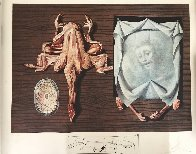 Diners De Gala: Frog Pasties 1973 Limited Edition Print by Salvador Dali - 1