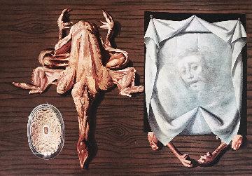 Diners De Gala: Frog Pasties 1973 Limited Edition Print - Salvador Dali