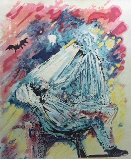 La Lumiere De La Guerison (The Dentist)  1976 Limited Edition Print by Salvador Dali