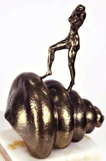 Nude Ascending the Staircase (Homage to Marcel Duchamp) Bronze Sculpture AP 1978 11 in Sculpture - Salvador Dali
