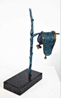 Persistence of Memory Bronze Sculpture 1980 15 in Sculpture - Salvador Dali
