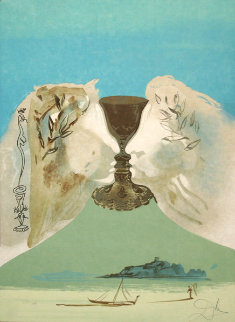 Chalice of Love 1976 Limited Edition Print - Salvador Dali