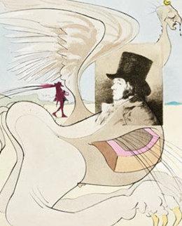 Les Caprices De Goya AP 1977 Limited Edition Print - Salvador Dali