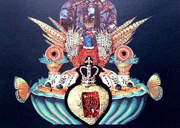 Les Chairs Monarchiques: Les Diners De Gala Suite 1977 Limited Edition Print - Salvador Dali