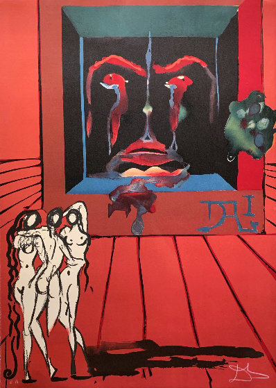 Obsession of the Heart: Visions Surrealiste Suite AP 1976 Limited Edition Print by Salvador Dali