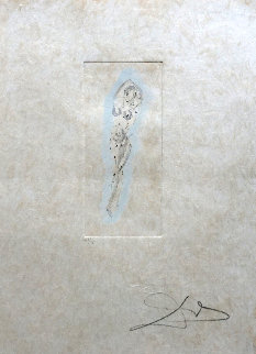 Petites Nus (From Apollinaire) G 1972 Limited Edition Print by Salvador Dali